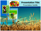 Agricultural food powerpoint templates