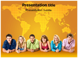 Teen agers powerpoint templates