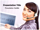Female employment powerpoint templates