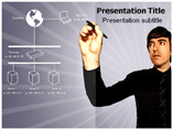 Internet networking powerpoint templates