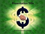 Dollar PPT Template, PPT Template on Money