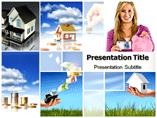 Real estate invest powerpoint templates