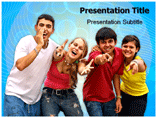 Teenager Life PowerPoint Templates