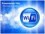 Wi fi Technology in Phones powerpoint templates