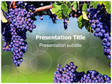 Grapes Nutrition Powerpoint Templates
