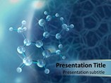 Medical powerpoint background - Molecule
