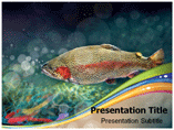Rainbow Trout Powerpoint Templates