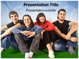 Adolescents Powerpoint Templates