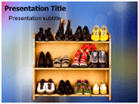 Footwear Design Powerpoint Templates
