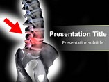 mac powerpoint backgrounds - Human spinal