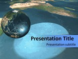 Globe Template PowerPoint
