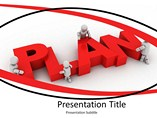 Business Plan Target Template PowerPoint