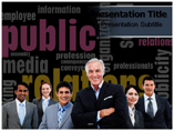 Public relations Specialist Powerpoint Templates