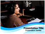 radio club Powerpoint Templates