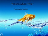 Animal powerpoint templates-Water Fish
