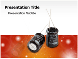 running capacitor Powerpoint Templates