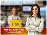 Convenience Stores Template PowerPoint
