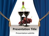 PPT Templates For Wine and Canvas