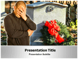 Funeral Service Powerpoint Templates