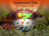 Business PowerPoint Templates-Casino