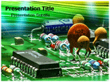 circuit component Powerpoint Templates