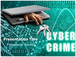 Cyber Crime Cases Powerpoint Templates