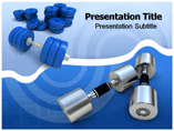 Dumbbells Exercise PowerPoint Templates