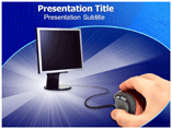 Optical communication PowerPoint Templates