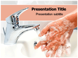 Wash hands Powerpoint Template