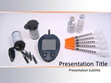 Powerpoint Templates on Diabetes Equipment