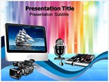 Multimedia technology PowerPoint Templates