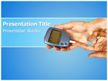 Diabetes check PowerPoint Templates