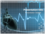 Heart palpitation PowerPoint Templates