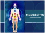 Body chakras PowerPoint Templates