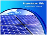 Solar cells PowerPoint Templates