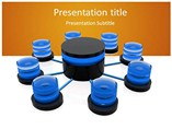 Database Distributed - Powerpoint Templates