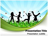 Children Powerpoint Templates