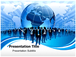 Global Business Market PowerPoint Theme