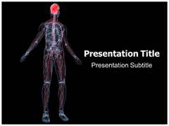 Nervous system powerpoint templates powerpoint presentation on nervous system brain powerpoint template 05028 toneelgroepblik Image collections