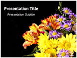 Flowers Delievery Powerpoint Templates