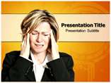 Headache Powerpoint Templates