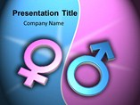 Male and Female - Powerpoint Templates