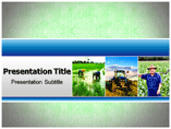 Farming Organic PowerPoint Templates