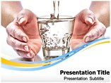 Save water PowerPoint Templates