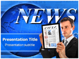 Daily news powerpoint templates