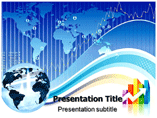 Global Business Plan PowerPoint Background