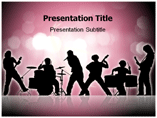Rock band powerpoint templates