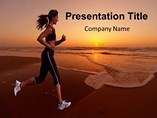 Evening Jogging  - PPT Templates