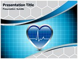 ECG Heart Beat Powerpoint Templates