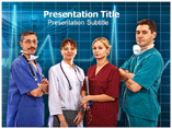 Medical Team PPT background